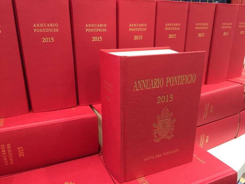 Het Pauselijk Jaarboek 2015
