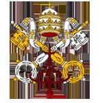 Het embleem van het Pausschap
