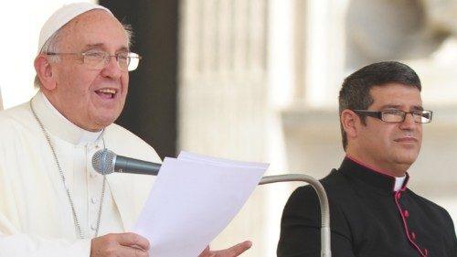 Paus Franciscus en zijn secretaris Fabián Pedacchio