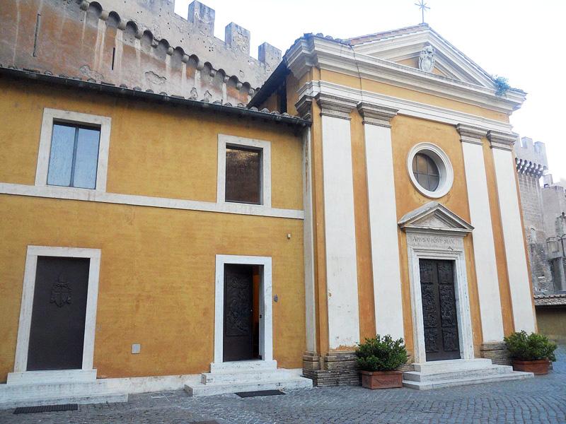 De kapel van de Zwitserse Garde