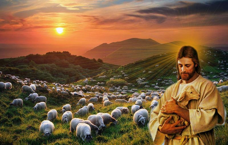 Jezus als de Goede Herder