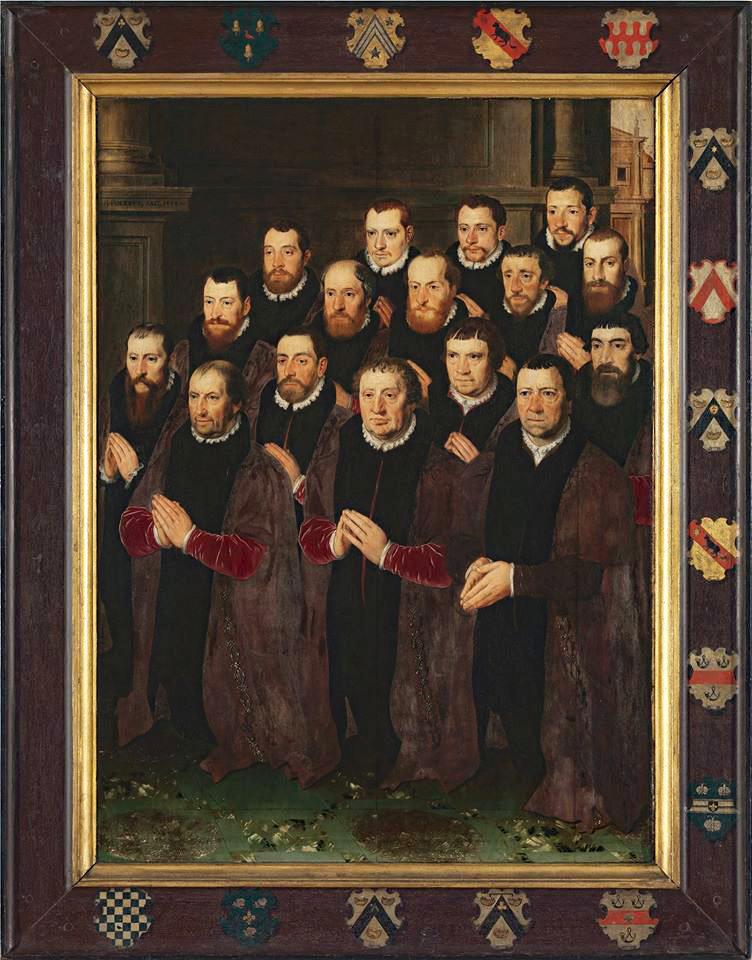 Leden van de Edele Confrérie van het Heilig Bloed