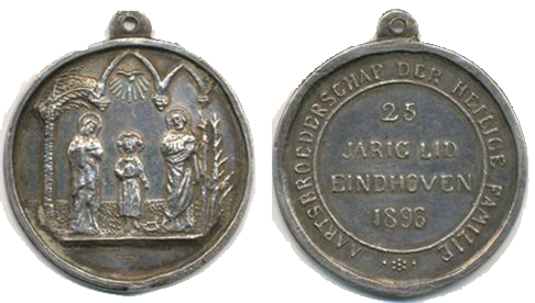 Medaille van de Aartsbroederschap van de Heilige Familie