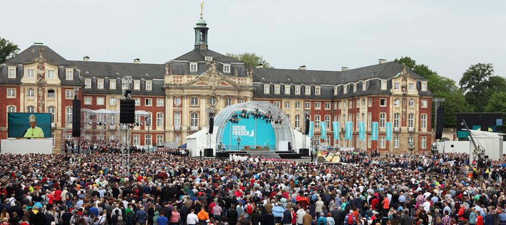 De Duitse Katholiekendag van 2018 in Münster