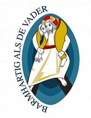 Het logo van het Heilig Jaar van Barmhartigheid