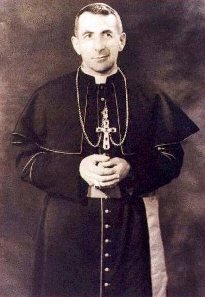 Albino Luciani als bisschop van Vittoria Veneto