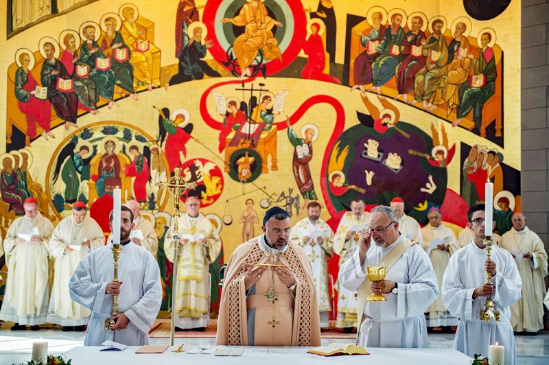 Misviering in een Maronitisch-katholieke kerk
