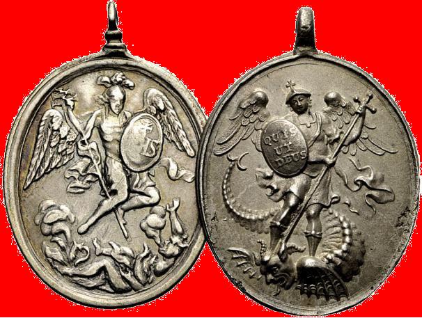 Medailles van de Erzbruderschaft St. Michael