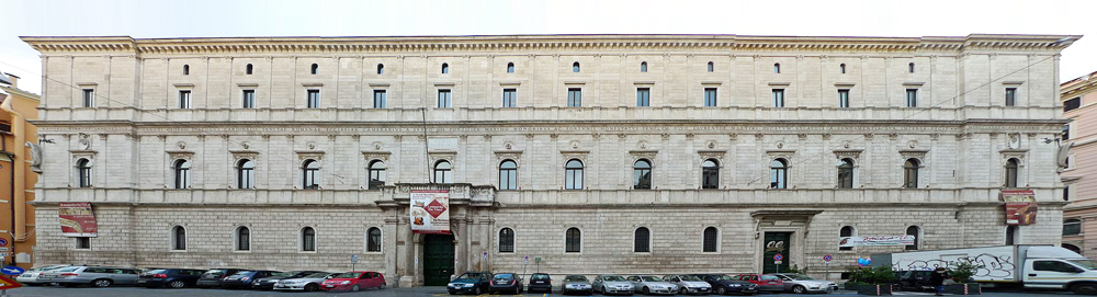 Het Palazzo della Cancelleria