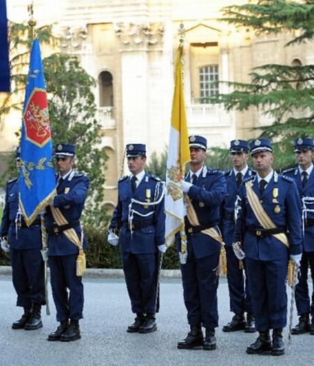 Leden van het Vaticaanse politiekorps