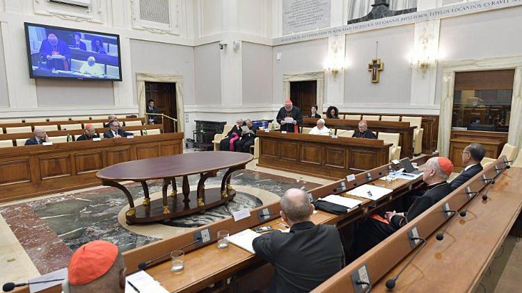 Een vergadering van de Raad voor de Economie