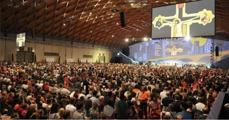 Jaarlijkse bijeenkomst van Comunione e Liberazione