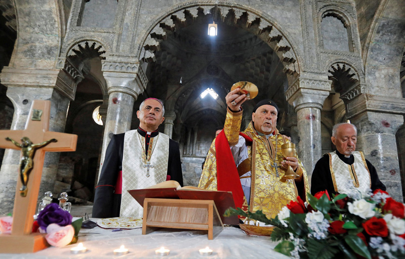 Liturgieviering in de Syrisch-katholieke kerk in Mosul