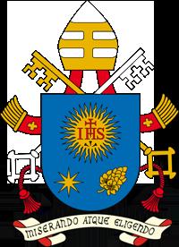 Het persoonlijke wapen van paus Franciscus