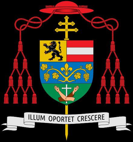 Wapen van aartsbisschop Lackner van Salzburg