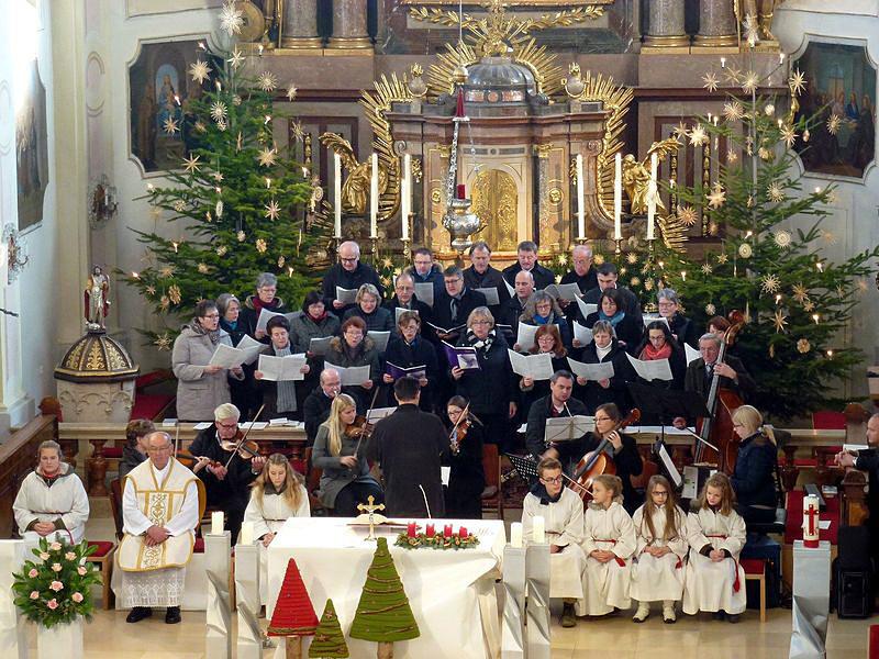 Kerstnachtmis in Gaspoltshofen