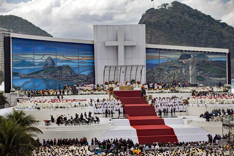 Wereldjongerendag in 2013 in Rio de Janeiro