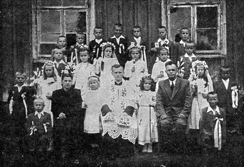Karol Wojtyła als priester in 1948